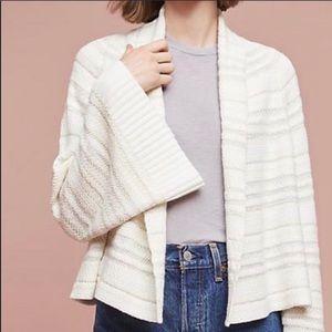 Anthro Moth Mahalia Kimono Sweater